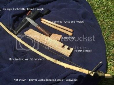 Bow-drill fire