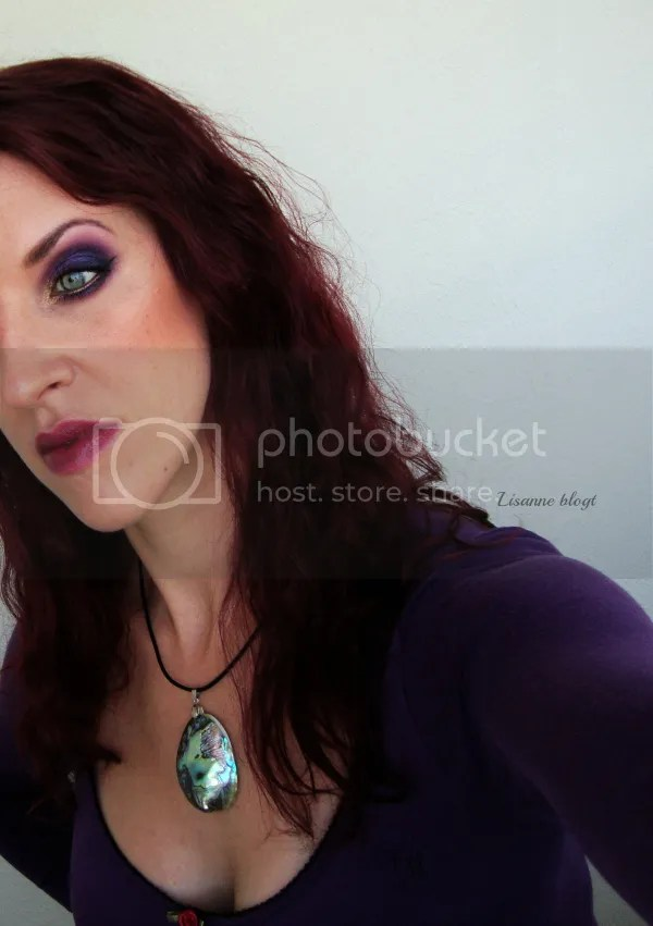 Autumn Golden with Purple fullface 2 by Lisanne Blogt