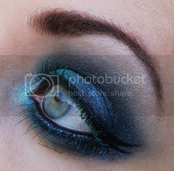 Turquoise lashes3 by Lisanne blogt