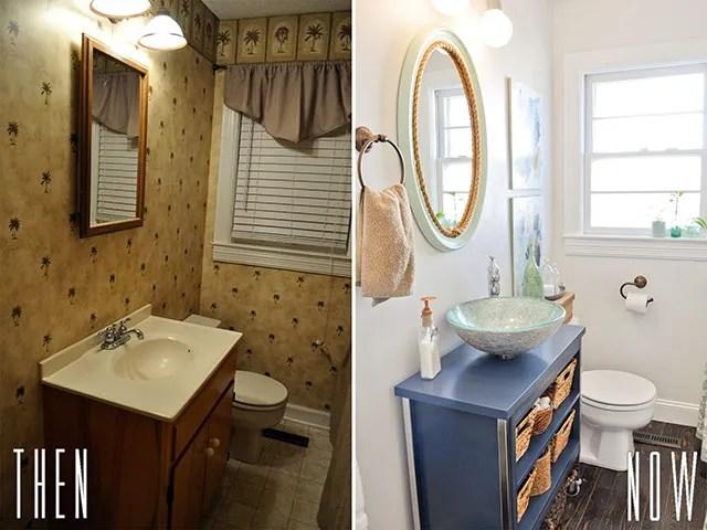 DIY Budget Bathroom Renovation Reveal