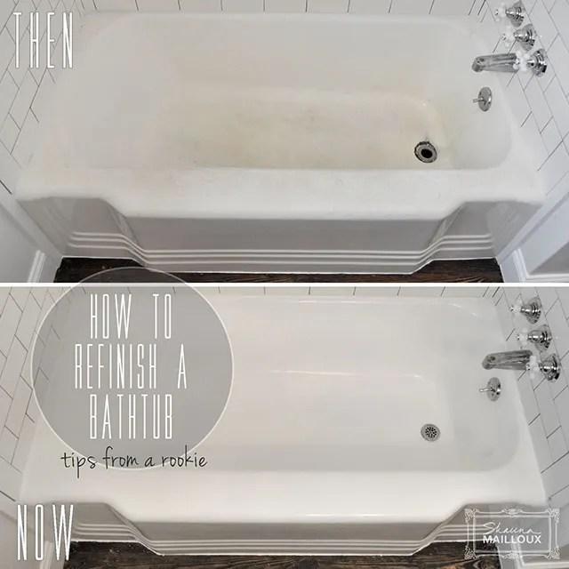 DIY Bathtub Refinishing Beautiful Matters