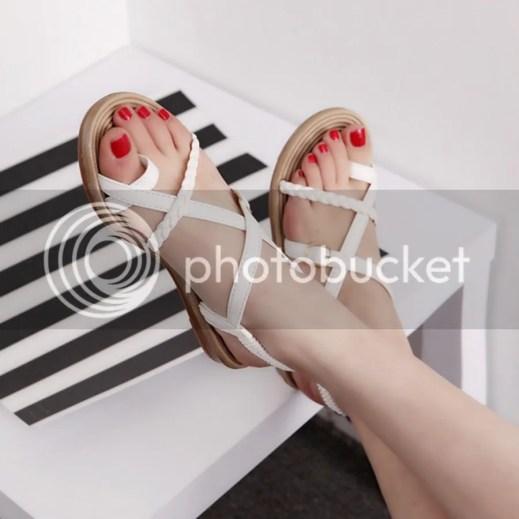 Sandal dây chéo nhiều màu 2