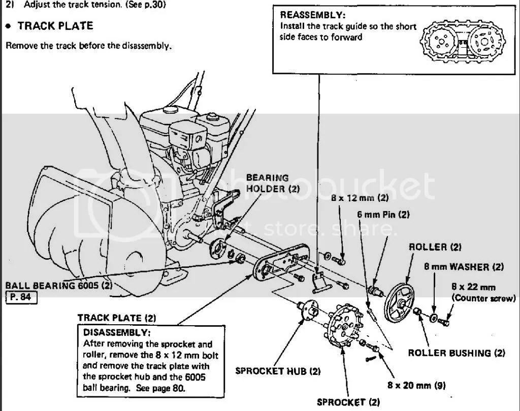 Honda Hs55 Snowblower Parts Manual