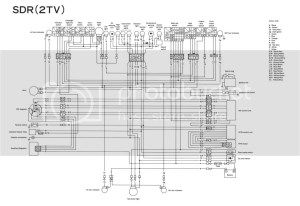 Diff'rent Strokers :: View topic  SDR200 wiring diagram