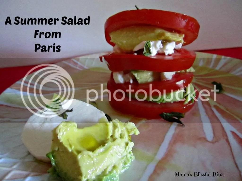 A Summer Salad from Paris #SundaySupper