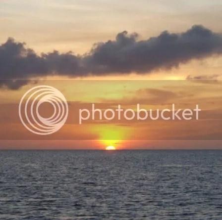 A pretty Caymanian sunset