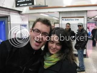 io e Valerio a Londra, Aprile 2008