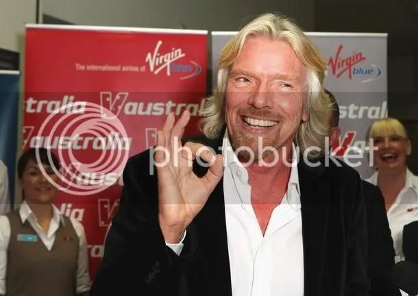Richard Branson, billionaire