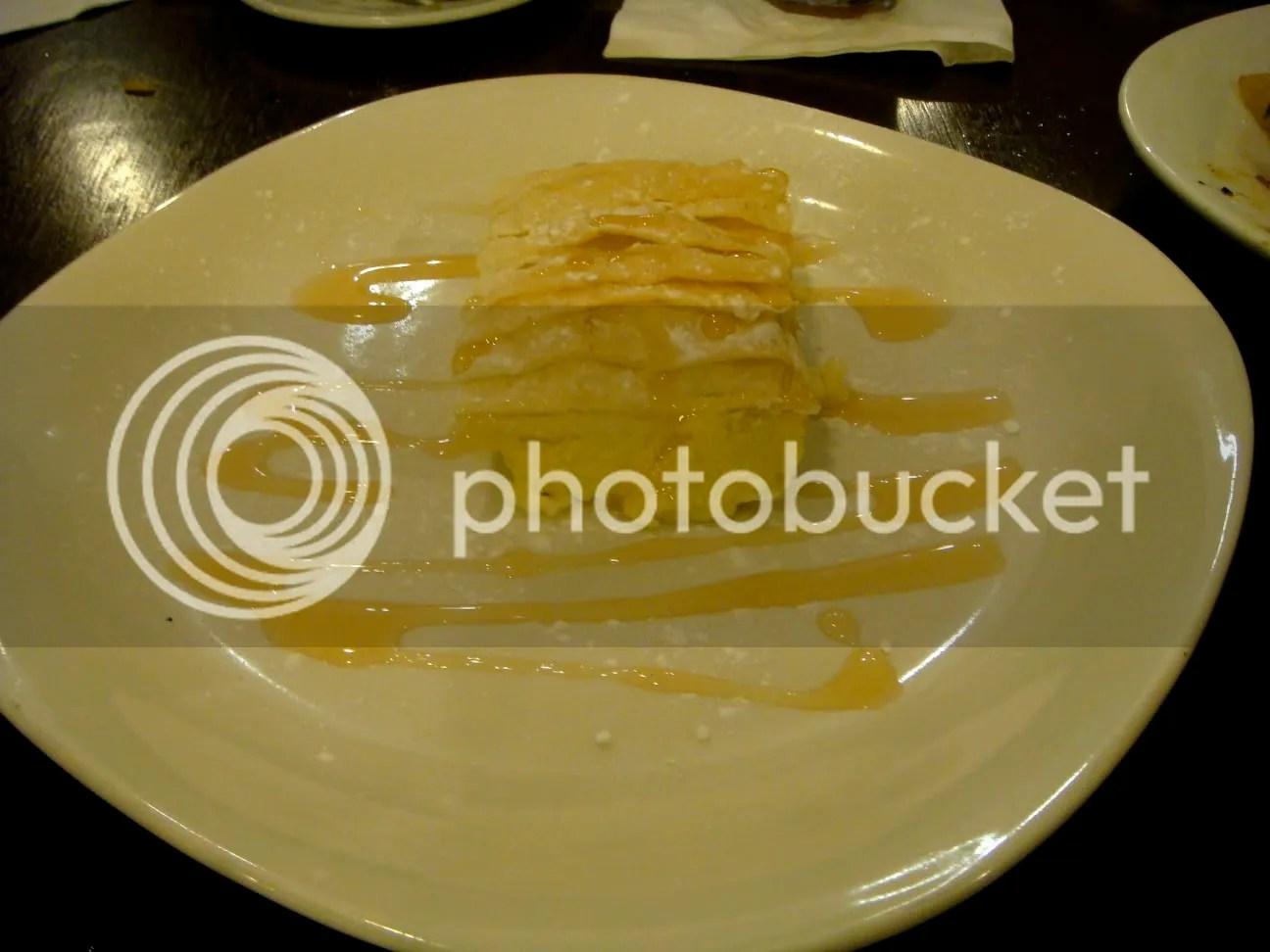 , areamy semolina custard in phyllo with orange and lemon ...