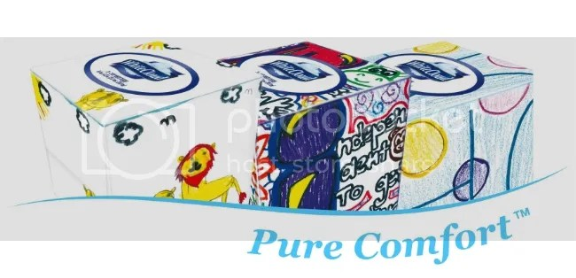 White Cloud Children's Miracle Network tissues