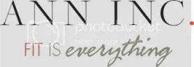 ann inc fit is everything logo