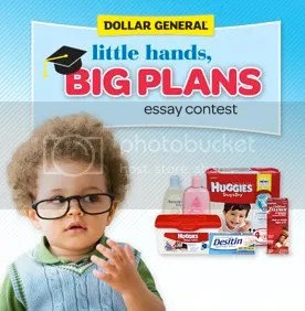 Huggies Little Hands Big Plans Essay Contest