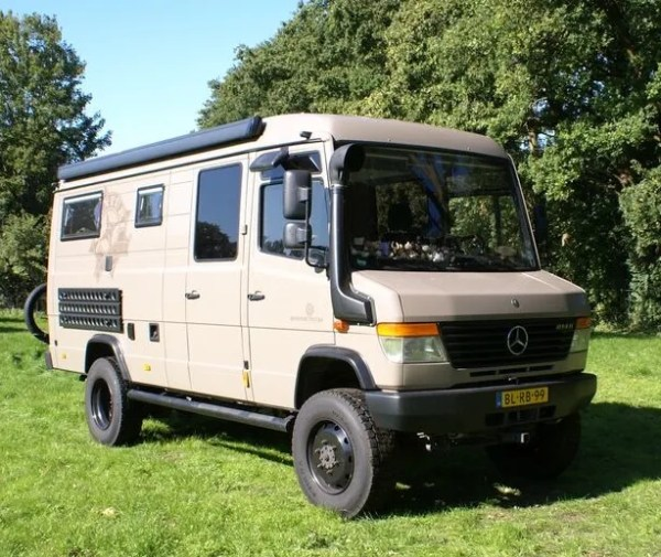 Mercedes Benz Vario 814DA 4×4 NOW SOLD | CampervanCulture.com
