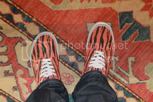 tmrsn - Vans x Supreme Zebra Era Orange