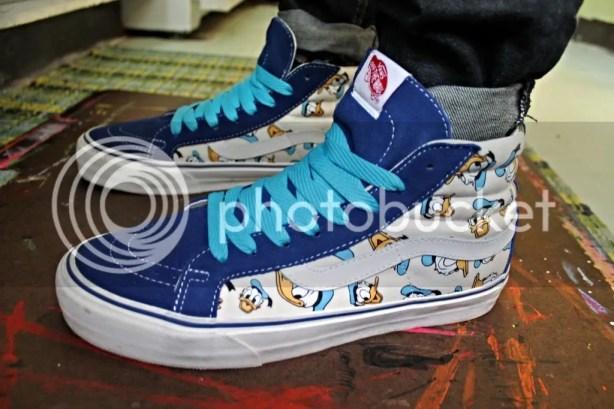tmrsn - Vault x Disney Donald Duck OG Sk8-Hi LX