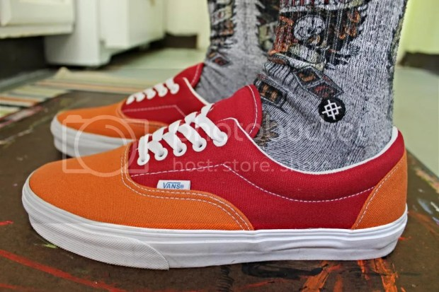 tmrsn - Skateboarder Magazine - Era- Orange/Red