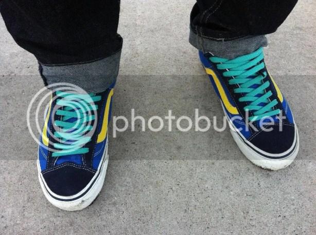tmrsn - Vans Vault OG Style 36 LX Blue