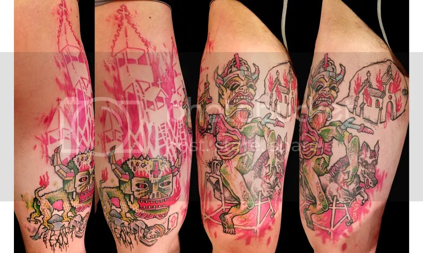 piet du congo#tattoo#viking#rider#church#monster photo beast_zps847532cc.jpg