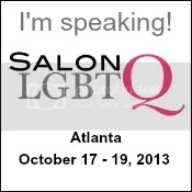 I'm speaking at Salon LGBTQ!