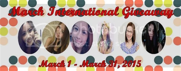 March International Giveaway