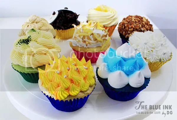 Yummy Cupcakes and Sandwiches at Bacolod Cupcake Cafe, Inc.