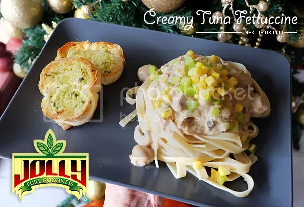 A Simple Pasta Dish For Christmas - Creamy Tuna Fettuccine