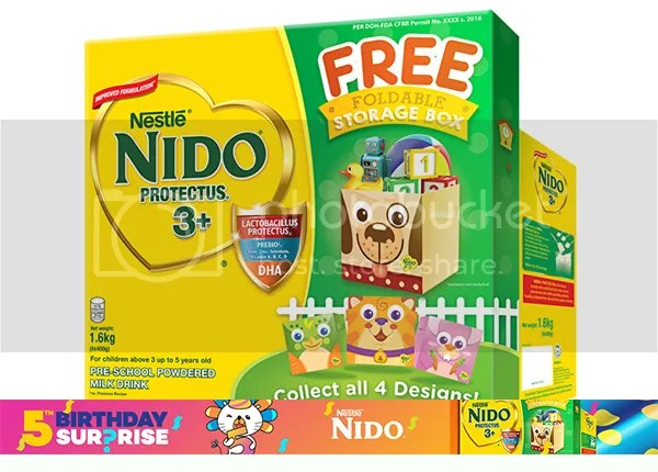 Nido And MamyPoko Deals At Lazada PH
