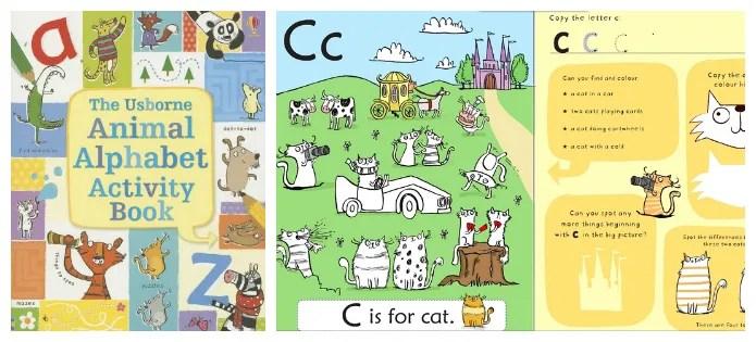 Usborne Animal Alphabet Activity Book
