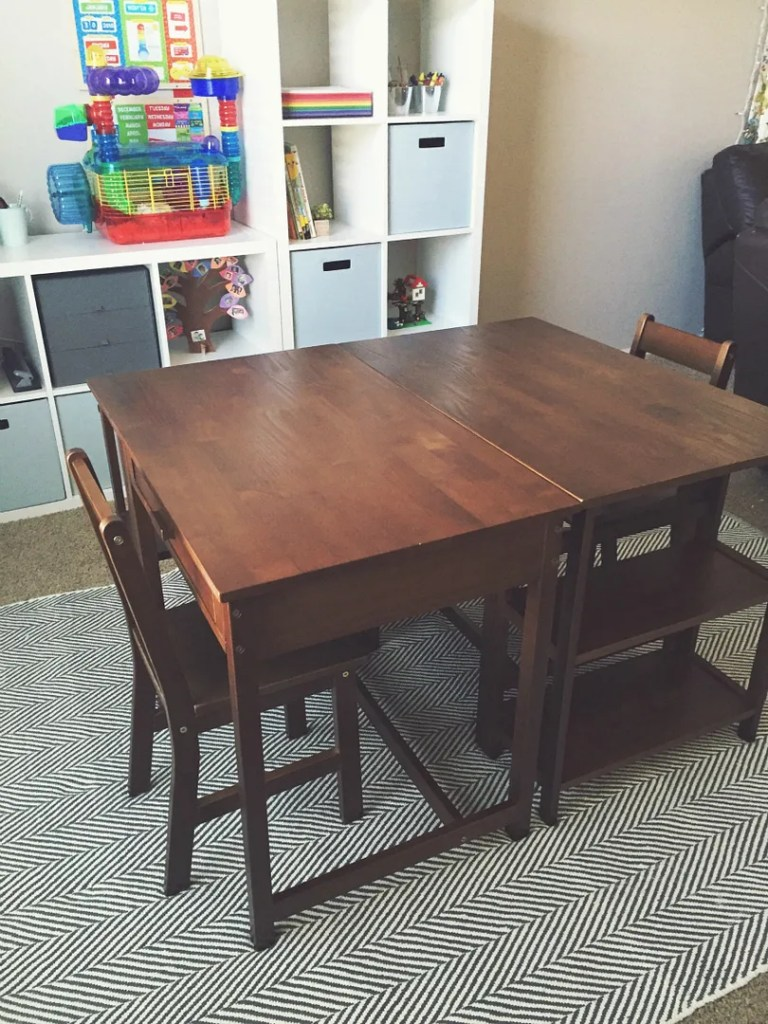 Choosing A Desk For Your Homeschool Room