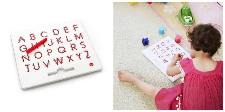 Kid-O A to Z Magnatab - educational gift guide for preschoolers