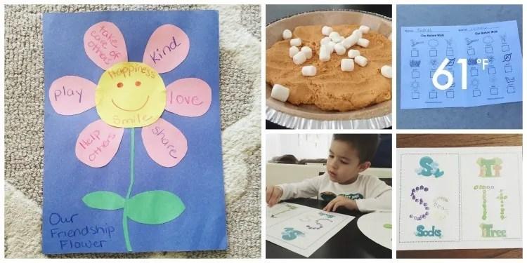 November Preschool Activities