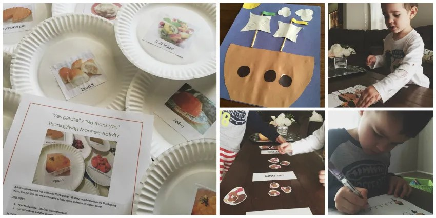Thanksgiving crafts, week 3