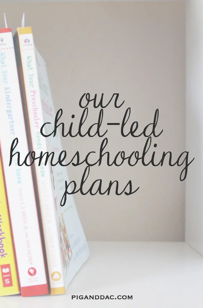 What our days look like as a child-led homeschooled family