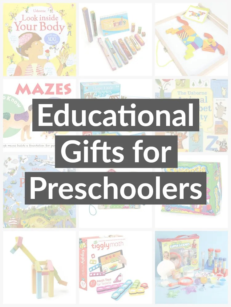 Fun, educational toys and books for preschoolers