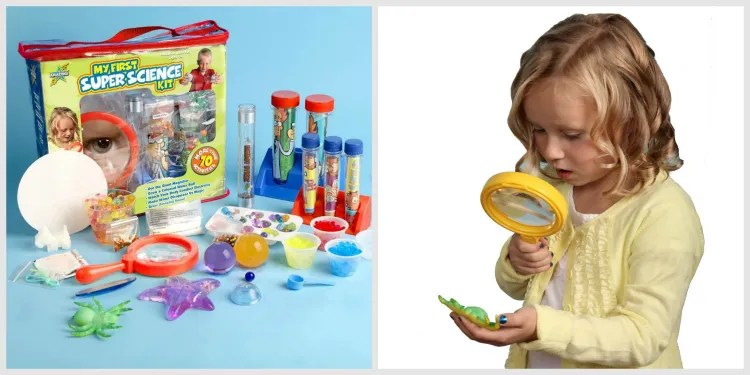 My First Super Science Kit - educational gift guide for preschoolers