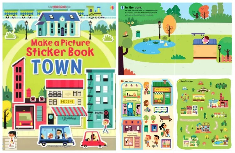 Usborne Make a Picture Sticker Book