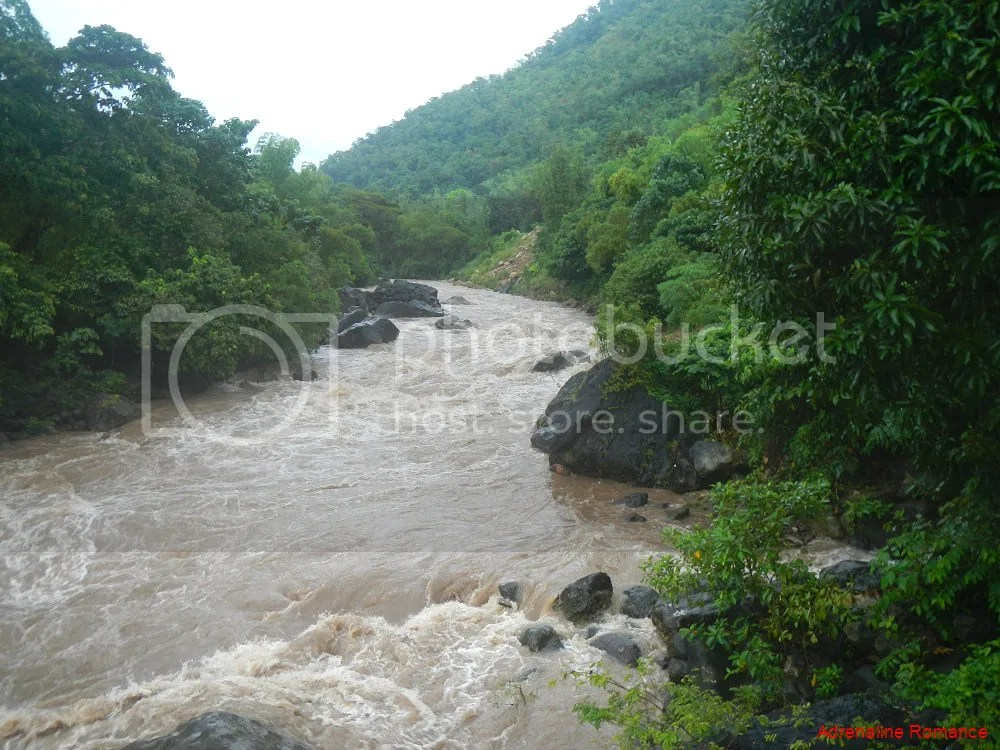 Flashflood at Tibiao River