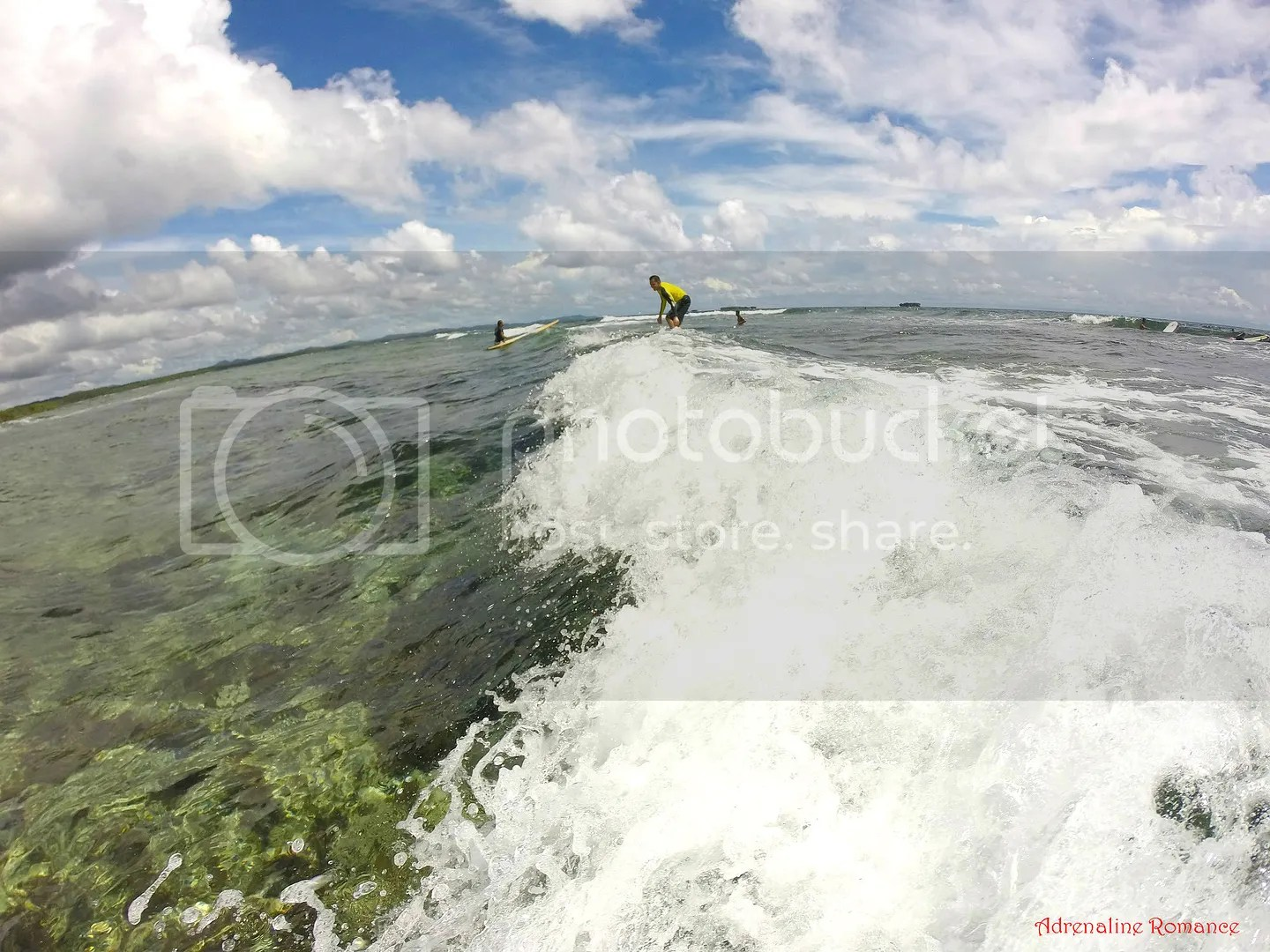 Surfing in Cloud 9, General Luna, Siargao