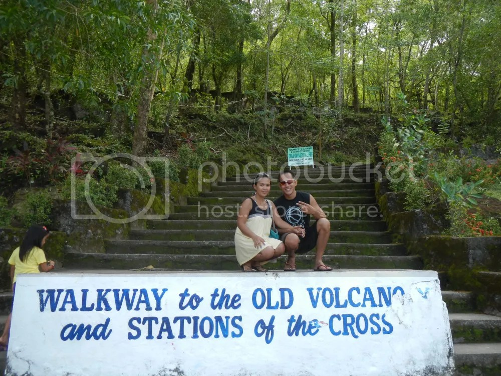Walkway to the Old Volcano
