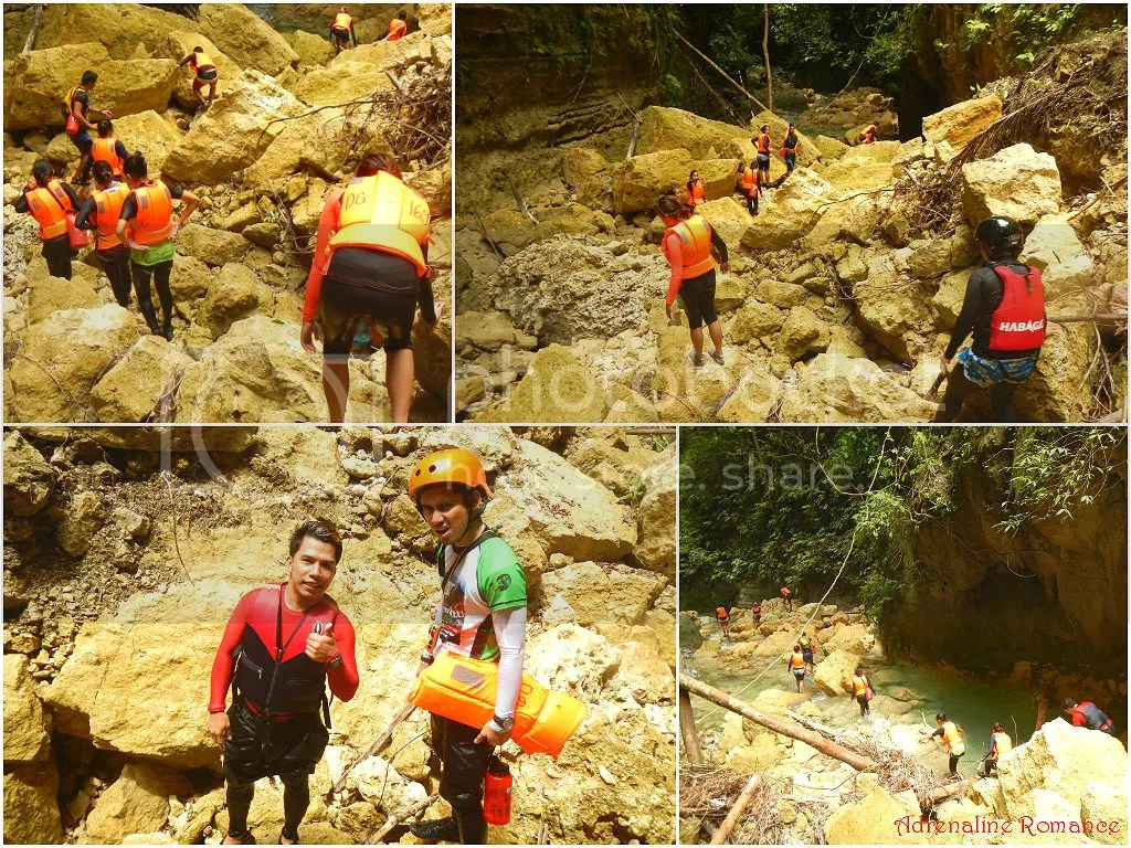 Downstream Canyoneering in Badian