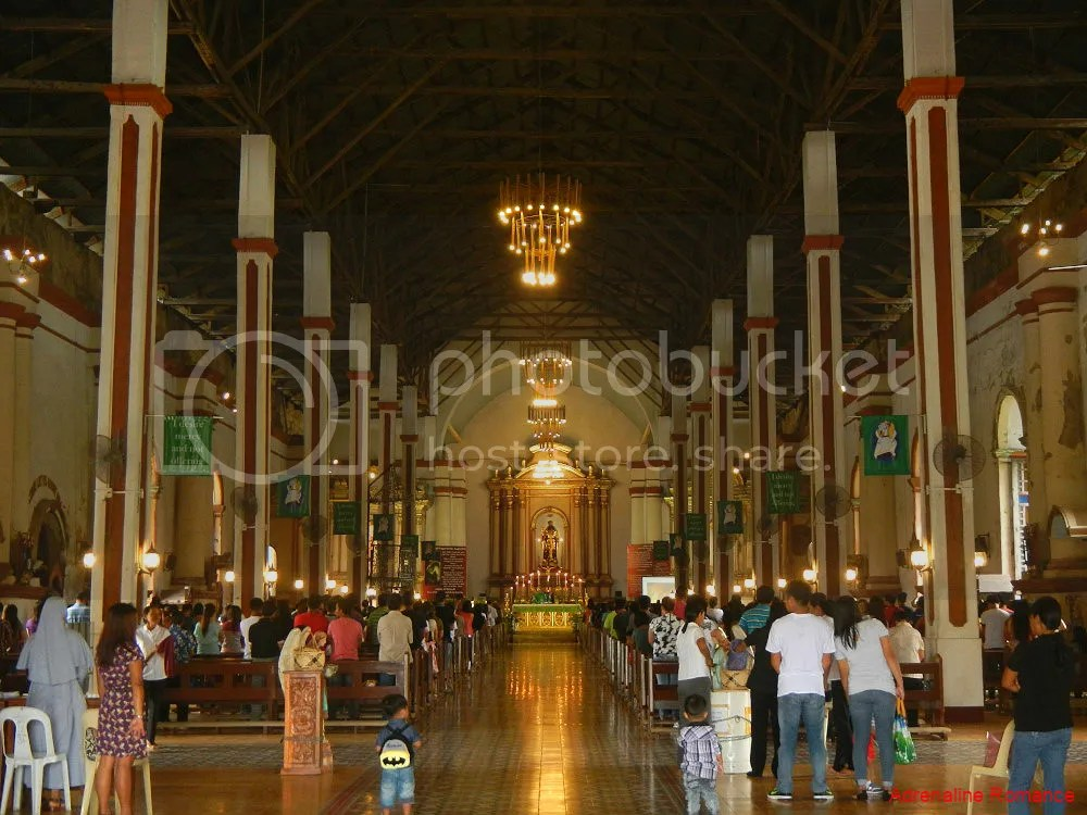 Saint Augustine Church in Paoay Interior