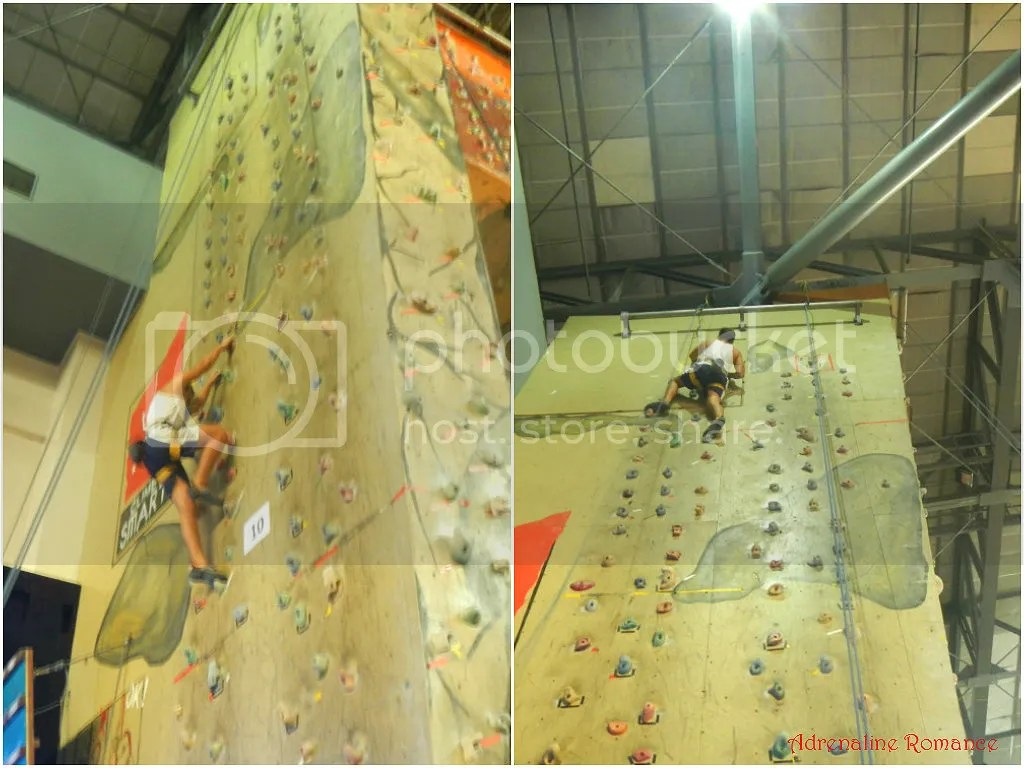Camp Sandugo Climbing Wall