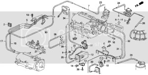 2001 Prelude Vacuum diagram and vacuum box problem please