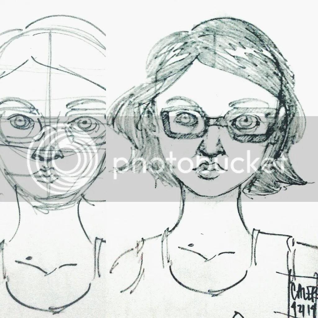 One of my boyfriend's sketches.