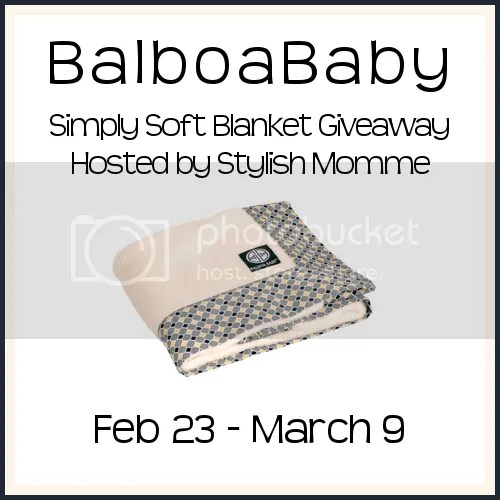BalboaBaby Simply Soft Blanket Giveaway