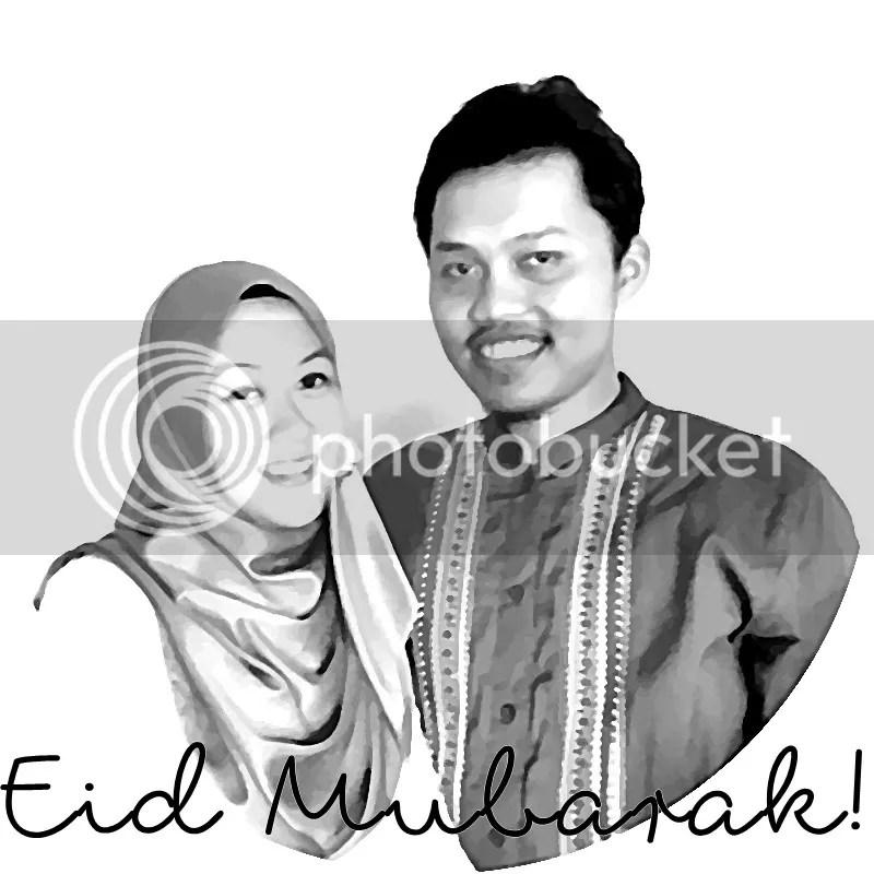 Eid Mubarak from Dara and Afief | Hola Darla