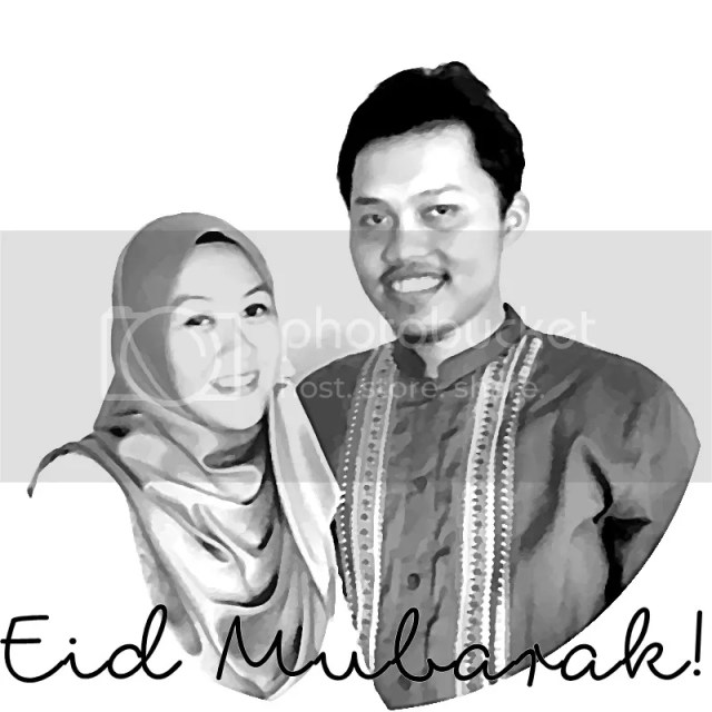 Eid Mubarak from Dara and Afief | Hola Darla