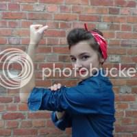 Halloween Costume: Rosie the Riveter