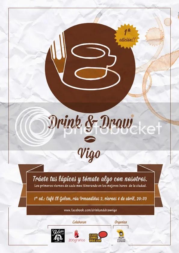 Drink & Draw en Vigo