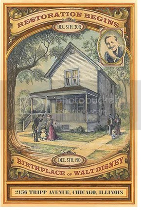 The Walt Disney Birthplace